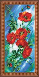 Kralen borduurpakket Poppy Dawn - Abris Art