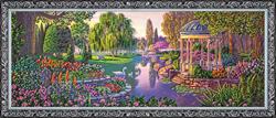 Kralen borduurpakket By the Pond - Abris Art