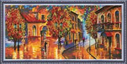 Kralen borduurpakket October Colours - Abris Art