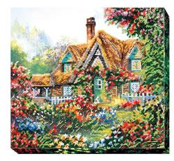 Kralen borduurpakket Home Sweet Home - Abris Art
