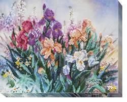 Kralen borduurpakket Morning Garden - Abris Art