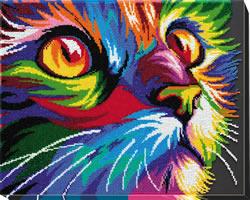 Kralen borduurpakket Neon Look - Abris Art