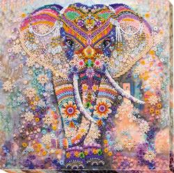 Kralen borduurpakket Miracle of India - Abris Art