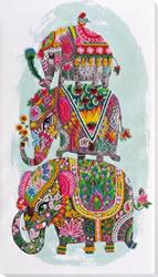 Kralen borduurpakket Three Elephants for Happiness - Abris Art