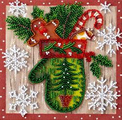 Kralen borduurpakket Children's Holiday - Abris Art