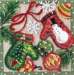Kralen borduurpakket Holiday Trivia - Abris Art