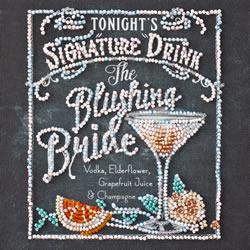 Kralen borduurpakket Blushing Bride - Abris Art