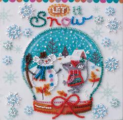 Kralen borduurpakket Snowiness - Abris Art