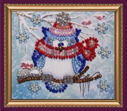 Kralen borduurpakket Owl – 5 - Abris Art