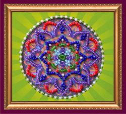 Kralen borduurpakket Oriental Pattern - 2 - Abris Art