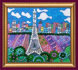 Kralen borduurpakket Paris - Abris Art
