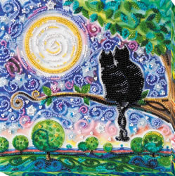 Bead Embroidery kit Together Forever - Abris Art