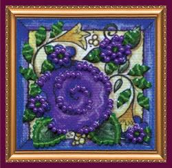 Kralen borduurpakket Flower Carpet - Abris Art