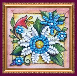Kralen borduurpakket Guessing on a Camomile - Abris Art