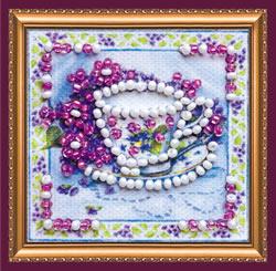 Kralen borduurpakket Fragrant Tea - Abris Art