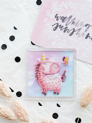Bead Embroidery kit Hi-Hi - Abris Art