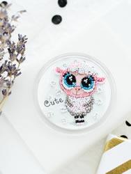 Bead Embroidery kit Mi-mi-mi - Abris Art
