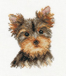 Borduurpakket Yorkshire Terrier - Alisa