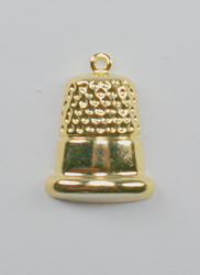 Charms Gold Thimble - Birdhouse Enterprise