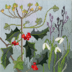 Borduurpakket Rose Swalwell - Long Stitch Seasons - Winter - Bothy Threads