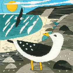 Borduurpakket Matt Johnson - Seagulls - Bothy Threads