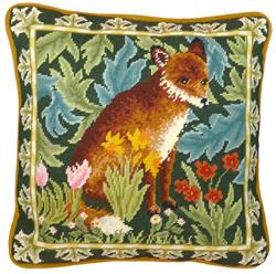 Borduurpakket William Morris - Woodland Fox Tapestry - Bothy Threads