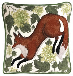 Kussenborduurpakket Catherine Rowe - Spring Fox - Bothy Threads