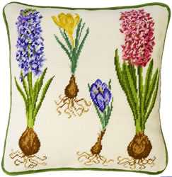 Borduurpakket Hyacinth And Crocus - Bothy Threads