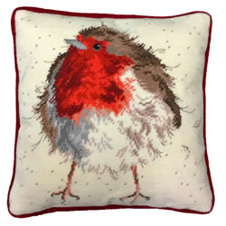 Borduurpakket Jolly Robin Tapestry - Bothy Threads