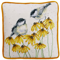Petit Point borduurpakket Hannah Dale - Chitter Chatter Tapestry - Bothy Threads