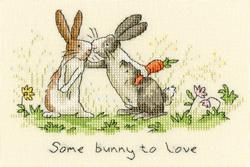 Borduurpakket Anita Jeram - Some Bunny To Love - Bothy Threads