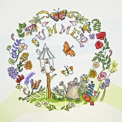 Borduurpakket Amanda Loverseed - Summer Time - Bothy Threads