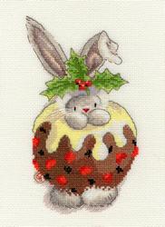 Borduurpakket Bebunni - Christmas Pudding - Bothy Threads
