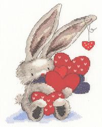 Borduurpakket Bebunni - Whole Lot of Love - Bothy Threads