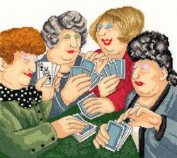 Borduurpakket Beryl Cook - A Full House - Bothy Threads