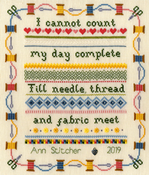 Borduurpakket Stitching Sampler - Bothy Threads