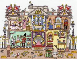 Borduurpakket Cut Thru' - Buckingham Palace - Bothy Threads