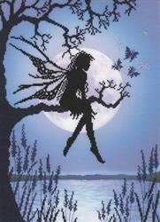 Borduurpakket Lavina Stamps' Fairies - Luna - Bothy Threads
