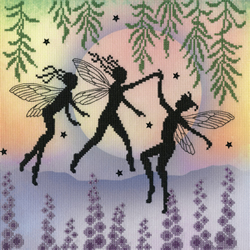 Borduurpakket Lavina Stamps' Fairies - Fairy Dance - Bothy Threads