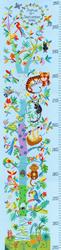 Borduurpakket Emily Johnston - Tropical Height Chart - Bothy Threads