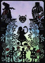 Borduurpakket Fairy Tales - Painting the Roses Red - Bothy Threads