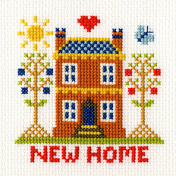 Borduurpakket New Home Card - Bothy Threads