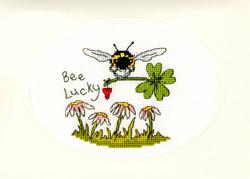 Borduurpakket Eleanor Teasdale - Bee Lucky - Bothy Threads