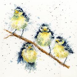 Borduurpakket Hannah Dale - Sweet Tweet - Bothy Threads
