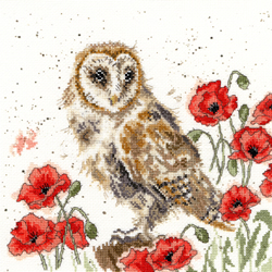 Borduurpakket Hannah Dale - The Lookout - Bothy Threads