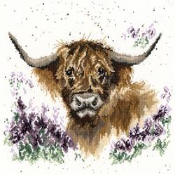 Borduurpakket Hannah Dale - Highland Heathers - Bothy Threads