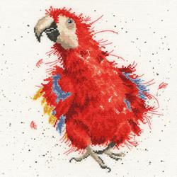 Boduurpakket Hannah Dale - Parrot On Parade - Bothy Threads