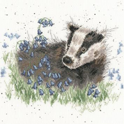 Borduurpakket Hannah Dale - Bluebell Wood - Bothy Threads