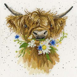 Borduurpakket Hannah Dale - Daisy Coo - Bothy Threads