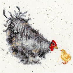 Borduurpakket Hannah Dale - Mother Hen - Bothy Threads